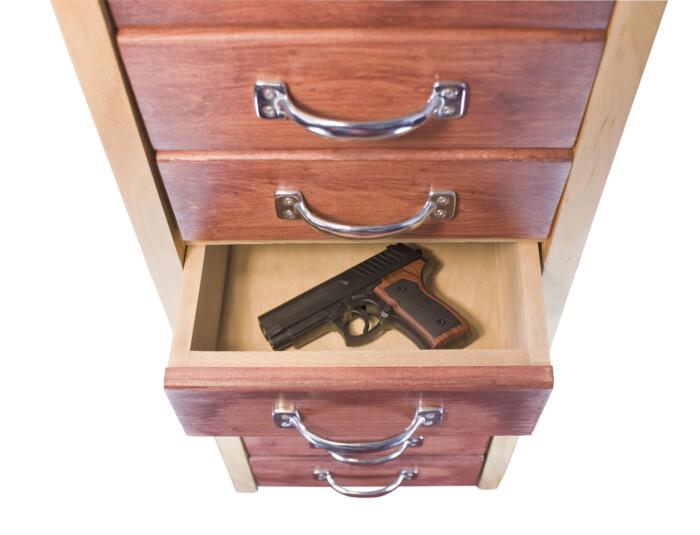 Hidden Gun Cabinets